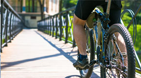 click here to learn more about bike safety